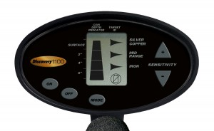 Bounty Hunter Discovery 1100 Metal Detector Faceplate