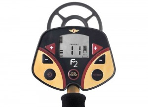 Fisher F2 Metal Detector Faceplate