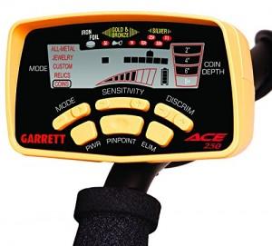 Garrett Ace 250 Metal Detector Faceplate