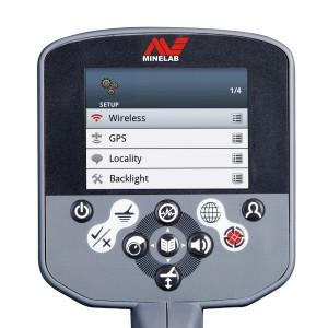 Minelab CTX 3030 Metal Detector Faceplate