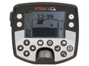 Minelab E-Trac Metal Detector Faceplate